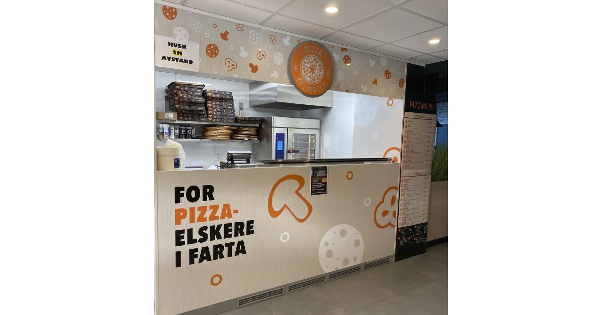 Nytt pizzakonsept bruker Eloma kombidamper som pizzaovn